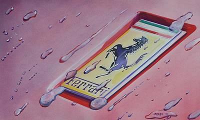 Cavallino Rampante Art Print by Marco Ippaso