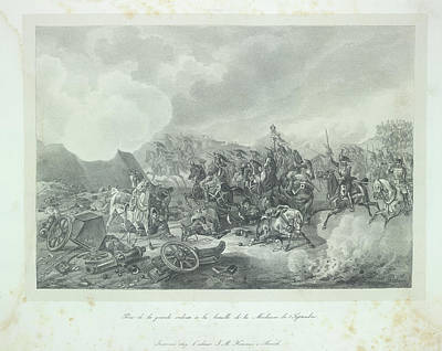 Adam Photograph - Cavalry Charge by British Library