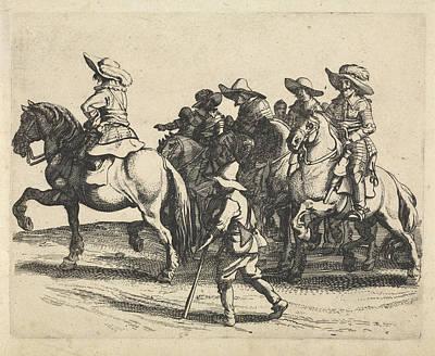 Cavalry, Jan Van De Velde II, Anonymous Art Print