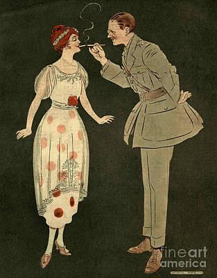 Cavander�s Army Club 1919 1910s Uk Art Print
