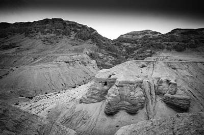 Photograph - Cave At Qumran by David Morefield