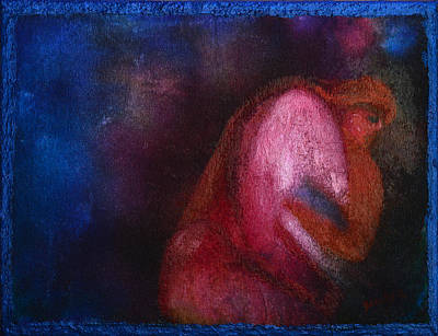 Painting - Cave Mother by Donna Blackhall