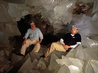 Cave Of Crystals Art Print by Javier Trueba/msf