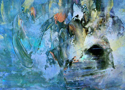 Painting - Cave Of Depression by Georgiana Romanovna