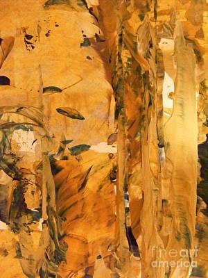 Cave Of Gold Art Print by Nancy Kane Chapman