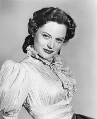 Cave Of Outlaws, Alexis Smith, 1951 Art Print by Everett