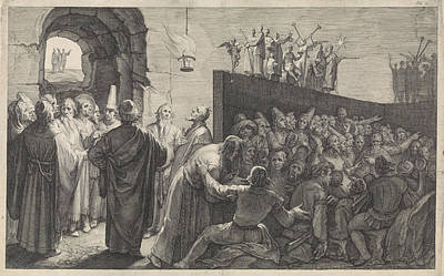 Cave Of Plato, Jan Saenredam Art Print