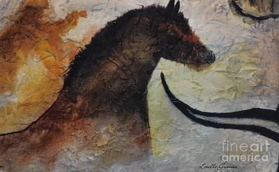 Painting - Cave Painting by Lorelle Gromus