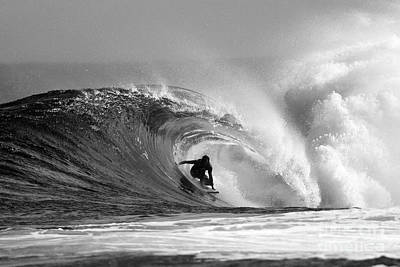 Waves Photograph - Caveman by Paul Topp