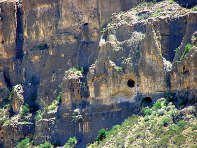 Photograph - Caves In Santa Elena Walls by Linda Cox