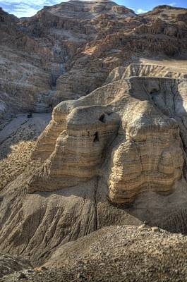 Caves Of Qumran Art Print by Don Wolf