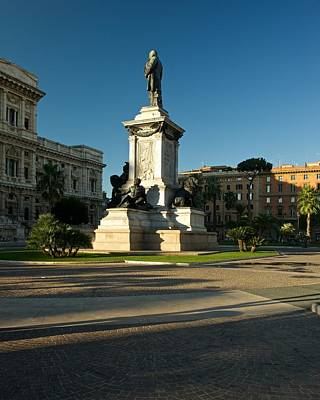 Photograph - Cavour Square by Stephen Taylor