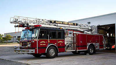 Photograph - Cayce Ladder 1 by Charles Hite