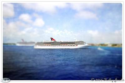 Mixed Media Royalty Free Images - Cayman Islands 13 Royalty-Free Image by Holley Jacobs
