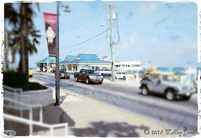 Mixed Media - Cayman Islands 2 by Holley Jacobs