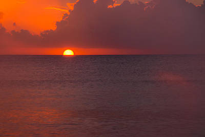 Photograph - Cayman Sunset by Brenda Jacobs