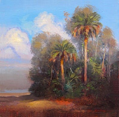 Painting - Cayo Costa by Keith Gunderson