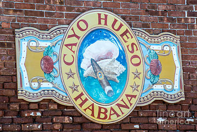 Cayo Hueso Habana Key West Art Print by Ian Monk