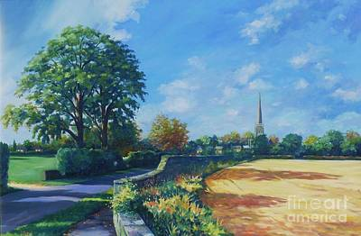 Lincolnshire Painting - Caythorpe by John Clark