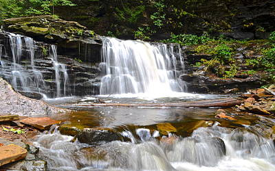 Cayuga Falls Art Print by Frozen in Time Fine Art Photography