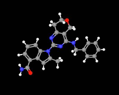 Cbs Photograph - Cb-5083 Experimental Drug Molecule by Dr Tim Evans
