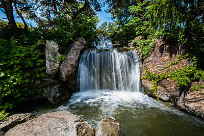Photograph - Cbg Waterfall by Randy Scherkenbach