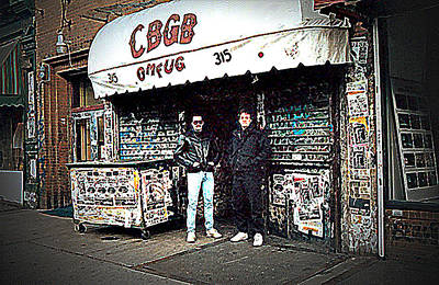 Cbgb New York 1992 Art Print by Timothy Lowry