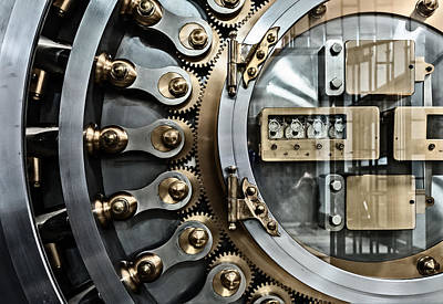 Photograph - Cbot Vault Door by James Howe
