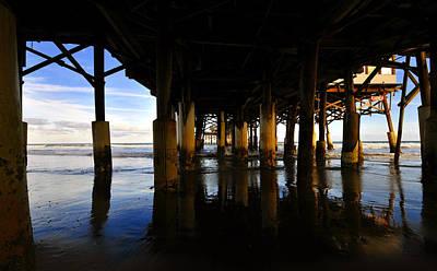 Under The Pier Art Print by David Lee Thompson