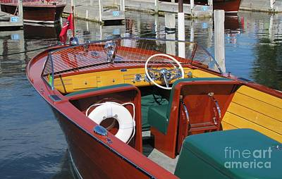 Photograph - Chris Craft Sportsman by Neil Zimmerman