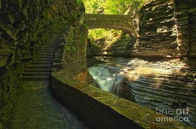Photograph - Ccc Path To The Falls by Adam Jewell
