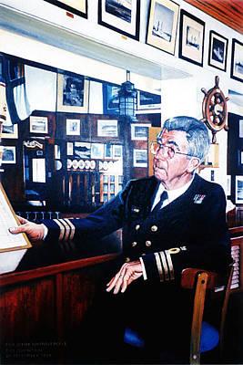 Painting - Cdr John Wainwright by Tim Johnson