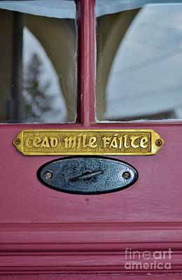 Cead Mile Failte - One Hundred Thousand Welcomes Art Print