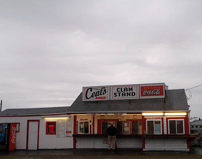 Photograph - Ceal's Clam Stand Since 1948 by Mary Capriole