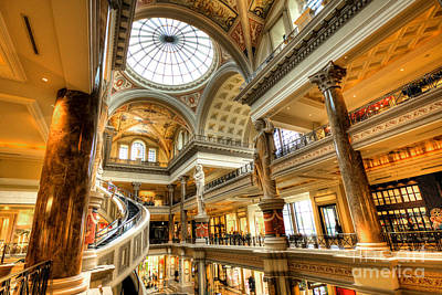 Caesars Palace Photograph - Ceasars Spiral  by Rob Hawkins