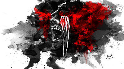 Headache Digital Art - Ceaseless Frustration by Shakunendra Singhal