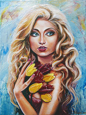 Painting - Cece by Yelena Rubin