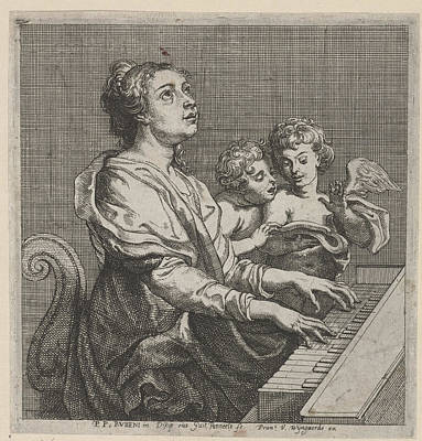 Cecilia H., Willem Panneels, Frans Van Den Wijngaerde Print by Quint Lox
