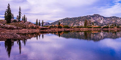 Waterscape Photograph - Cecret Reflection by Chad Dutson