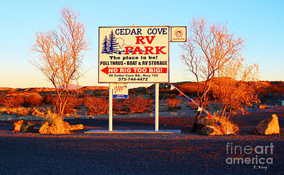 Photograph - Cedar Cove Rv Park by Roena King