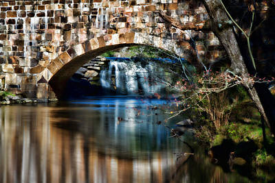 Photograph - Cedar Creek At Davies Bridge by Lana Trussell