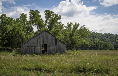 Photograph - Cedar Creek Barn II by Wayne Meyer