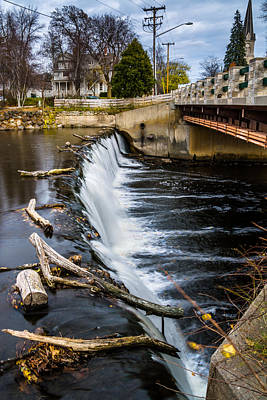 Photograph - Cedar Creek Dam by Randy Scherkenbach