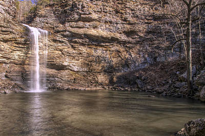 Photograph - Cedar Falls At Petit Jean State Park - Arkansas by Jason Politte