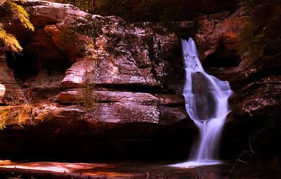 Photograph - Cedar Falls by Haren Images- Kriss Haren
