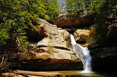 Photograph - Cedar Falls by Mike Murdock