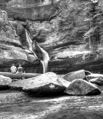 Photograph - Cedar Falls Picnic by Mark Bowmer