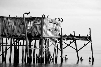 Photograph - Cedar Key Fishing Shack by Daniel Woodrum