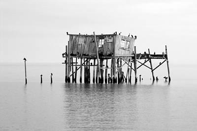Photograph - Cedar Key Fishing Shack II by Daniel Woodrum