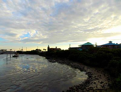 Photograph - Cedar Key Marina Low Tide 1 by Sheri McLeroy